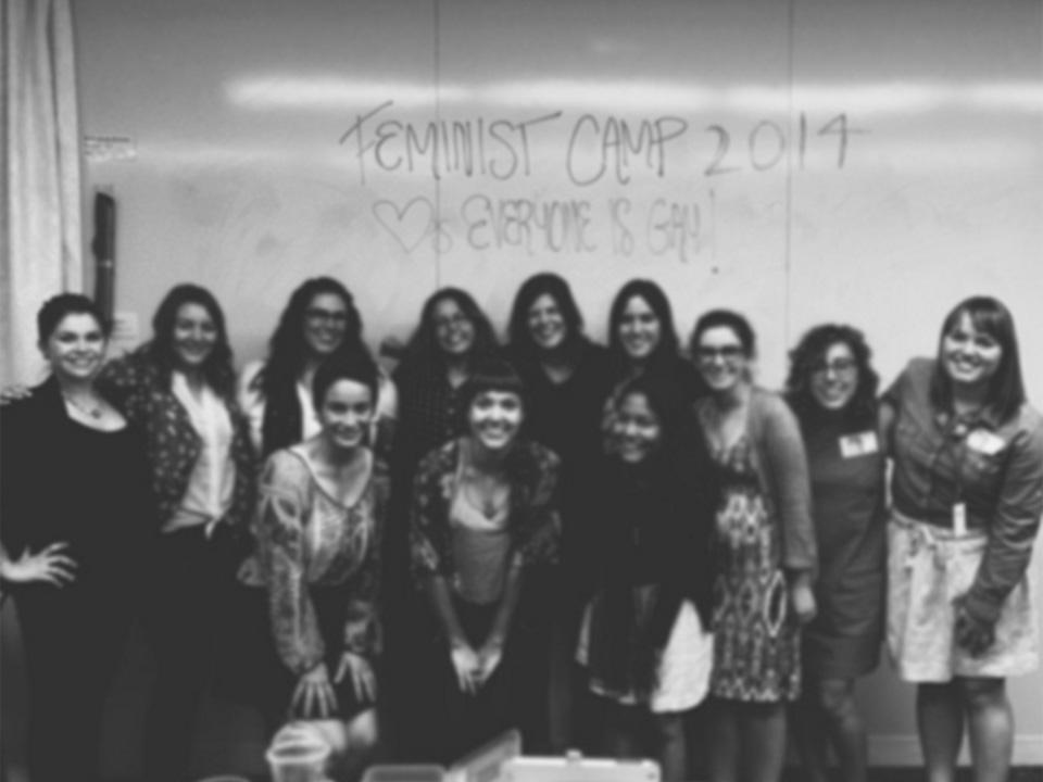feminst camp blur